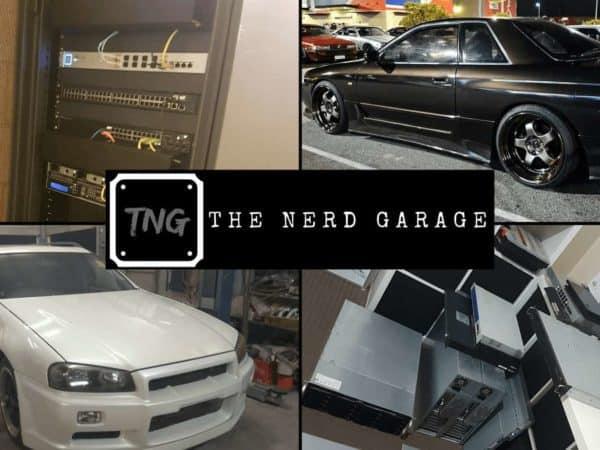 The Nerd Garage Welcome Banner