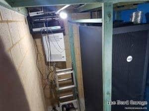 Server room Framing