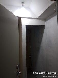Wall base coat done