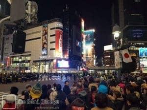 Shibuya Crossing NYE